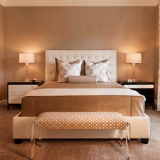 Transitional Bedroom by KGA Studio Architects