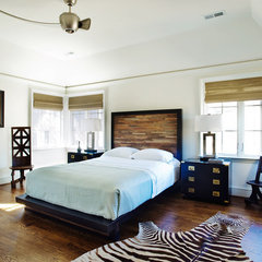 eclectic bedroom by Panageries