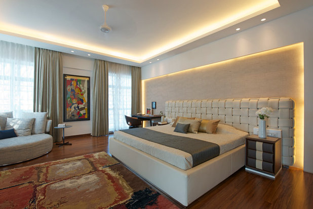 Contemporary Bedroom by ZZ Architects