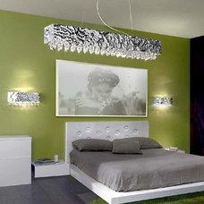 Modern Bedroom by Murano Art Glass Australia