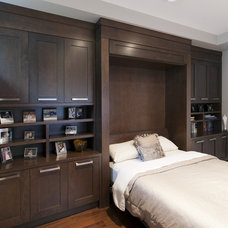 Transitional Bedroom by Old World Kitchens & Custom Cabinets