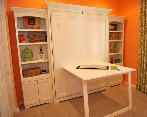 murphy bed desk ideas pictures remodel and decor. Black Bedroom Furniture Sets. Home Design Ideas