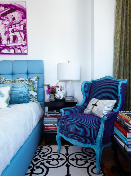 Eclectic Bedroom by Michael Tavano Design