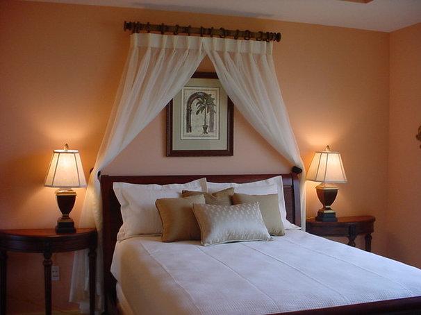 Tropical Bedroom by Liquid Design Studios LLC