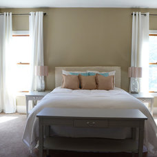 Farmhouse Bedroom by Bella Traverse Design