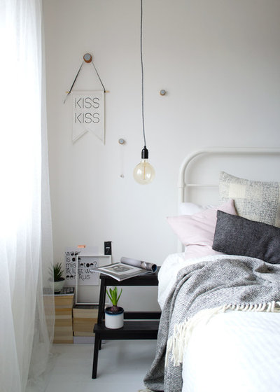 Scandinavian Bedroom by Curate & Display