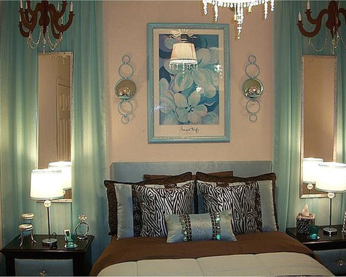 Aqua And Brown Bedroom Ideas, Pictures, Remodel And Decor