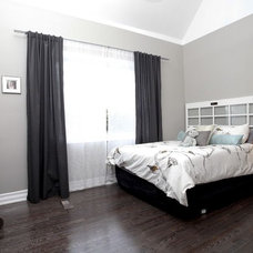 Eclectic Bedroom by Realty Queen Toronto