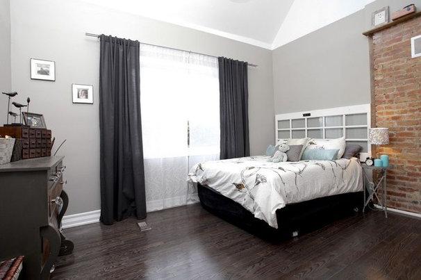 Eclectic Bedroom by Realty Queen Toronto