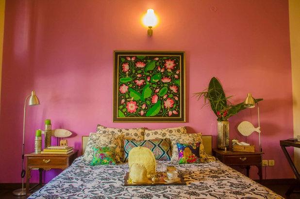 Eclectic Bedroom by Shan Bhatnagar Designs