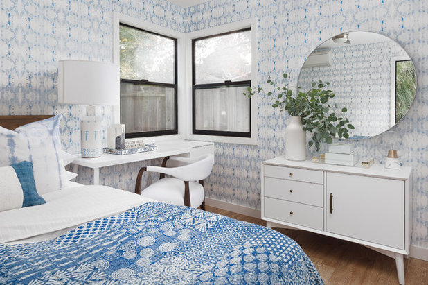 Midcentury Bedroom by Design Shop Interiors