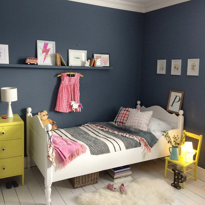 Transitional Bedroom by Fallowgrey