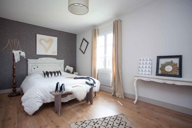 Color rosa palo en paredes una opci n relajante y con - Dormitorios dorados ...