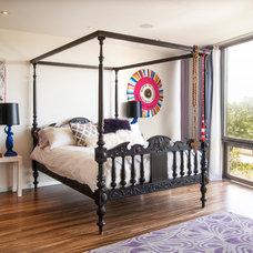 Contemporary Bedroom by Adrienne DeRosa