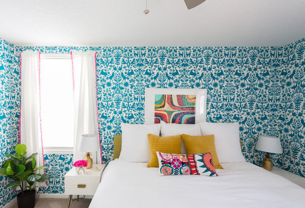 Eclectic Bedroom by Jessica Cain