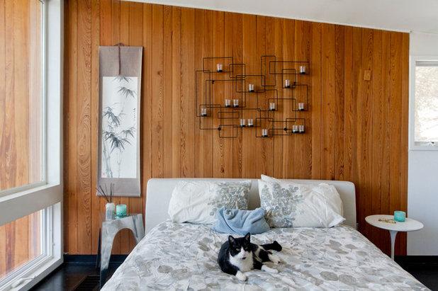 Midcentury Bedroom by Rikki Snyder