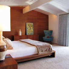 Midcentury Bedroom by Tara Bussema - Neat Organization and Design