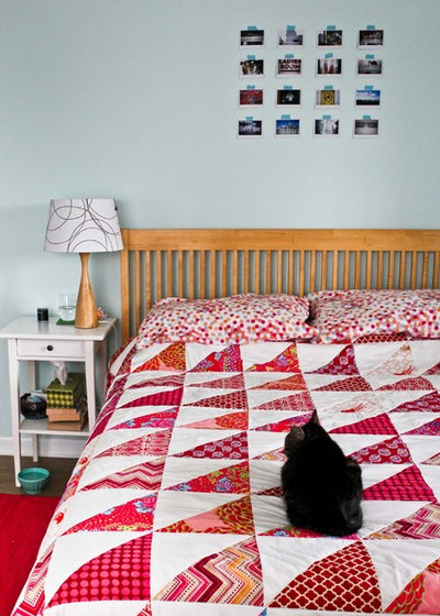 Transitional Bedroom by Caela McKeever