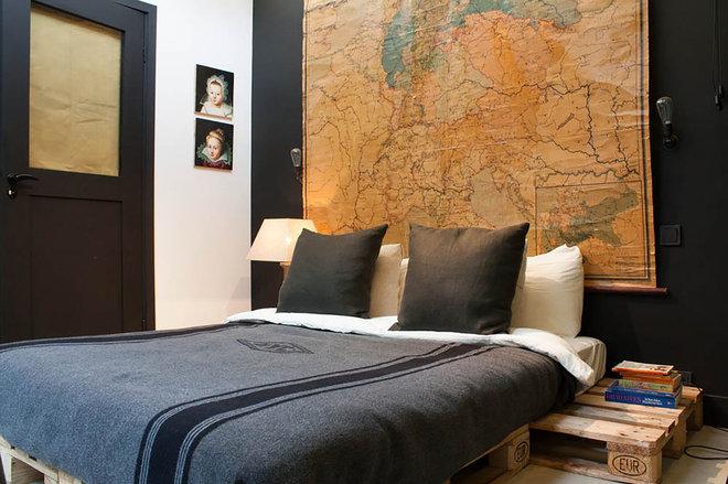 Industrial Bedroom by Louise de Miranda
