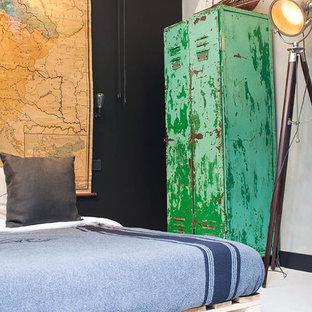 My Houzz: A Garage transformed into a boy's dream pad