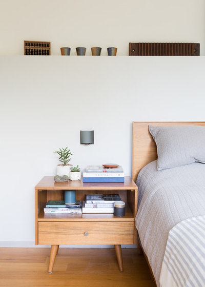 Contemporary Bedroom by Jessica Cain