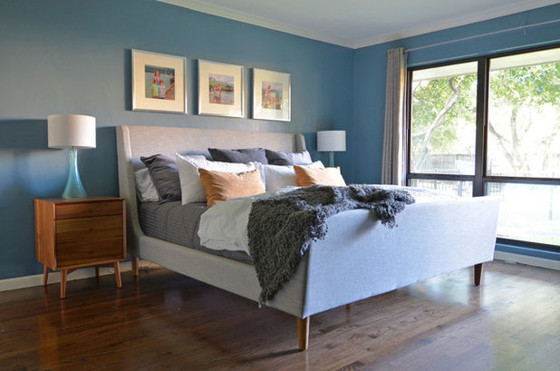 Ideal Midcentury Bedroom by Sarah Greenman