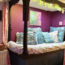 Eclectic Bedroom by Kimberley Bryan