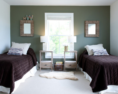 dark green bedroom design ideas renovations photos
