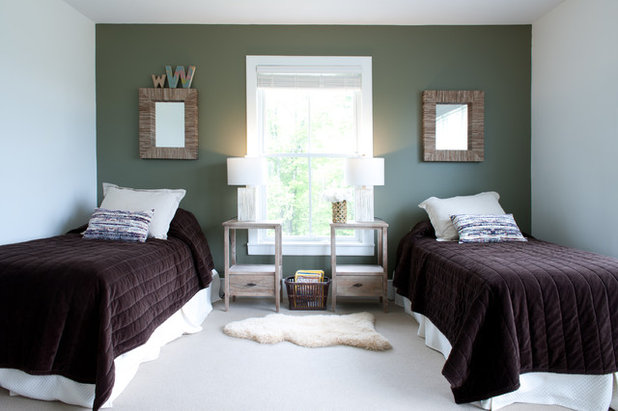 Contemporary Bedroom by Mary Prince Photography