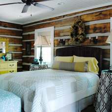 Rustic Bedroom by Corynne Pless