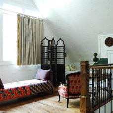 Rustic Bedroom by Corynne Pless