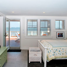 Beach Style Bedroom by Mary Prince Photography