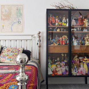 Eclectic bedroom photo in Dallas