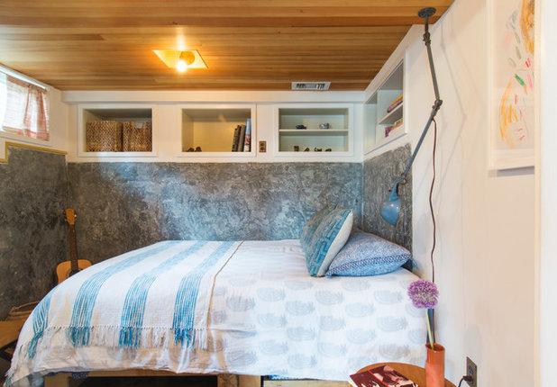 eclectic bedroom by carolyn reyes