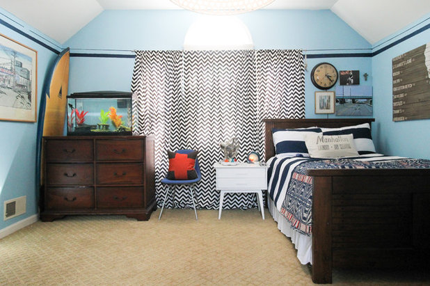 Transitional Bedroom by Michaela Dodd