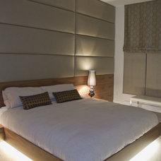 Contemporary Bedroom by Heather Merenda