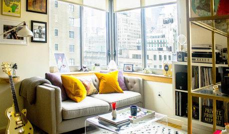 Houzzbesuch: Stilmix für ein 48qm-Apartment mitten in New York