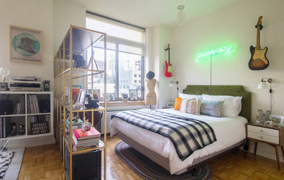 5 Ways to Fake a Bedroom in a Studio Apartment