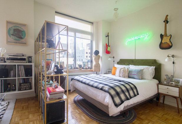Eclectic Bedroom by Sarah Seung-McFarland