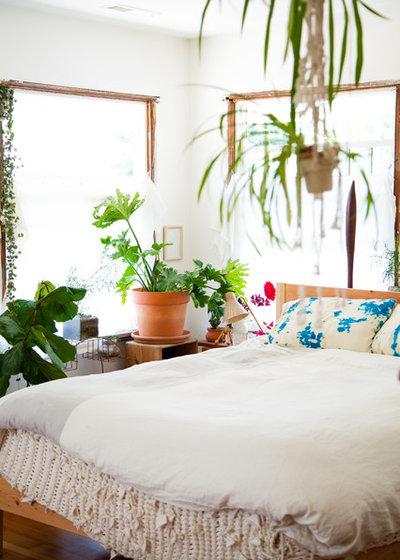 エクレクティック 寝室 by Ellie Lillstrom Photography