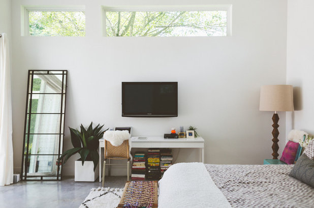 Contemporary Bedroom by Heather Banks