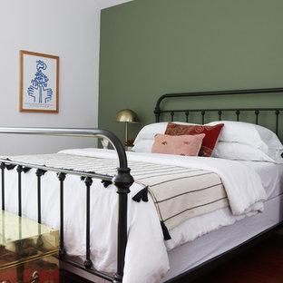 オースティンのトランジショナルスタイルのおしゃれな寝室