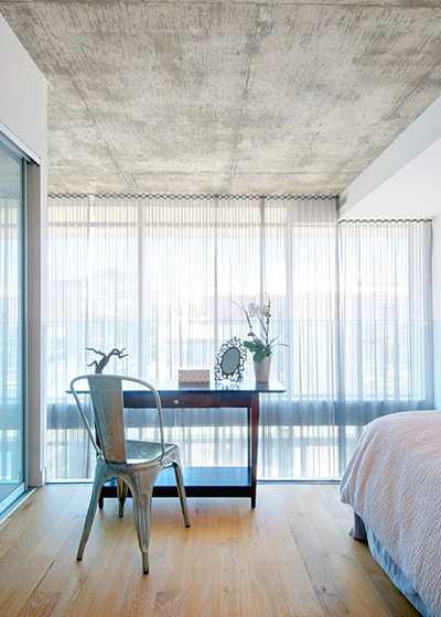 Contemporary Bedroom by Andrew Snow Photography