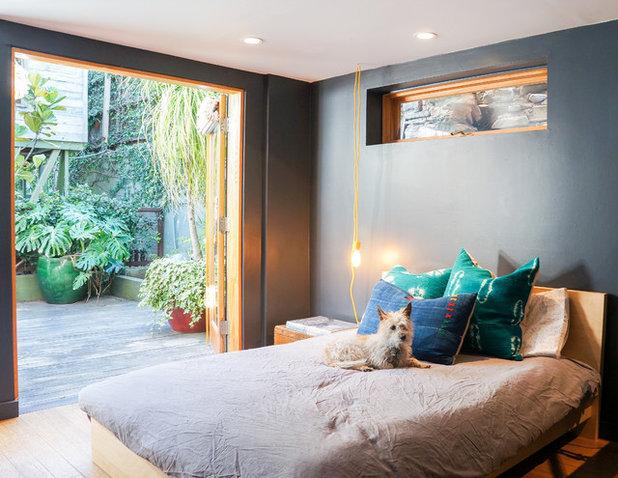 Contemporary Bedroom by STRUKTR Studios Photography