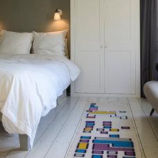 Eclectic Bedroom Adamo Family Home