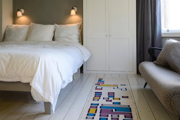 Eklektisch Schlafzimmer My Houzz: Casual Comfort in a London Victorian