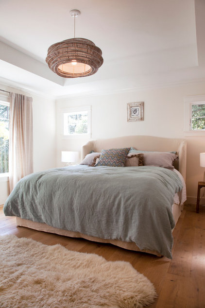 Contemporary Bedroom by Margot Hartford Photography