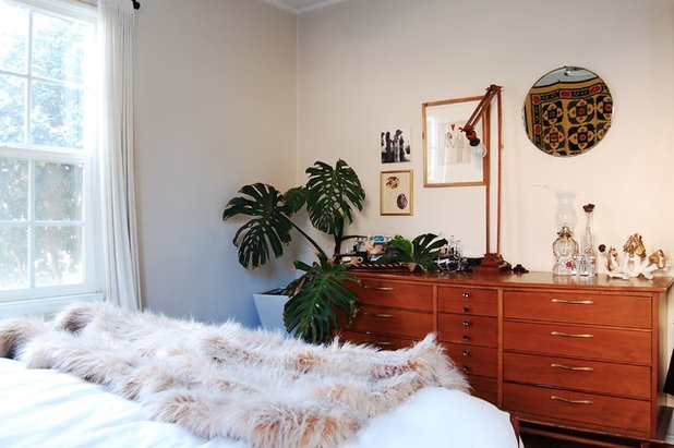 Eclectic Bedroom by Corynne Pless
