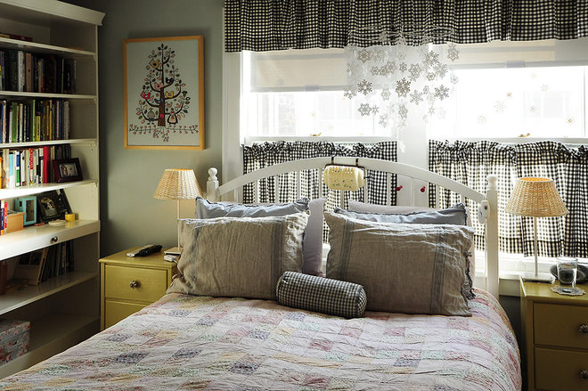Eclectic Bedroom by Julianna Smith