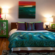 Tropical Bedroom by Adrienne DeRosa